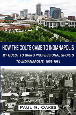 How the Colts Came to Indianapolis